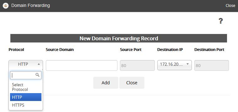 HAProxy / Reverse Proxy / Domain forwarding - Knowledgebase